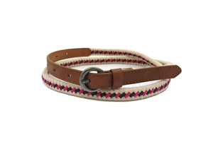 AF-078 Womens fashionable braided belt with buckle