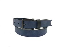 AF-116 Womens blue leather dress belt