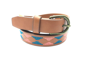 Nice stylish women belt with bronze buckle AFL71057