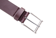 AFM7051 Mens burgundy wide fashion belts