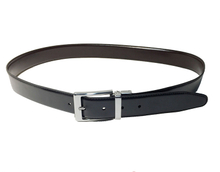 AF-145 Mens black male formal belt