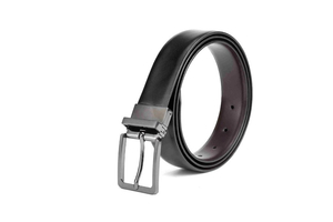 LA1004 Men Leather Black Fashion Cheap Belt